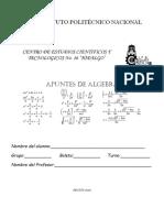 Algebra Temario