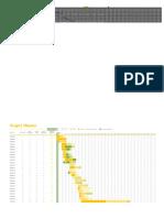 Project Plan Template in Excel Free1111 (Enregistré automatiquement)