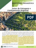 02. CAU Planos Diretores de Paisagem e Planejamento Regional