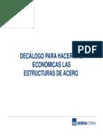 11 Decálogo para Hacer más Económicas las Estructuras de Acero