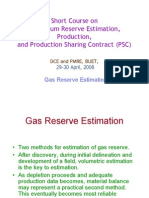reserve estimation - gas