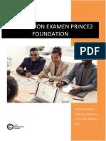 PREPARATION EXAMEN PRINCE2 FOUNDATION