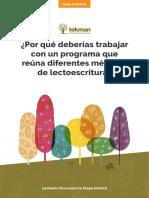 Programa Que Reune Diferentes Metodos de Lectoescritura