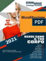 Microfiltrazione Residenziale Ultrafiltrazione Acqua catalogo