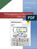 Rettungskarten Volkswagen