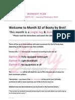 BBB Month 32 Workout Plan