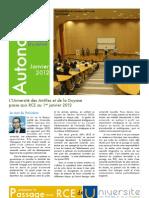 Autonomie de l'Université des Antilles et de la Guyane