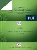 Unidad 4 - El Dinero, El Tipo de Interés y La Renta Parte 2