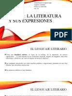 TEMA 2. LA LITERATURA Y SUS EXPRESIONES