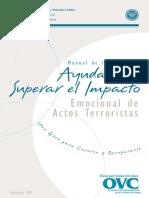 Manual Para Superar Impacto Emocional Terrorismo
