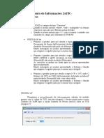 Levantamento de Informações IAPR -Suprimentos- SIMAM 2015