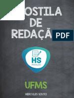 E-BOOK REDAÇÃO UFMS