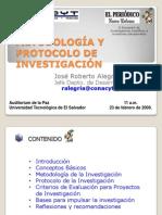Metodologia y Protocolo de Investigacion