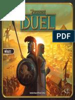 7 Wonders Duel - Regles Du Jeu