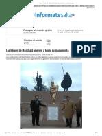 Los héroes de Manchalá vuelven a tener su monumento