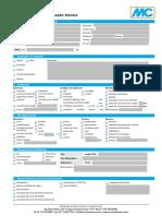 Checklist Especificação Técnica