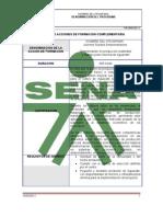 DISEÑO DE ACCIONES DE FORMACION COMPLEMENTARIAAGUACATE MODIFICADO FEB03