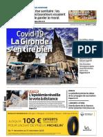 Sud Ouest - Gironde - Mercredi 02 Décembre 2020
