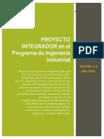 Guía Proyecto Integrador INGINDUSTRIAL