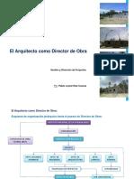 El Arquitecto como Director de Obra - PABLO RUIZ