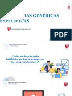 Sesión 3 - Competencias Genéricas y Específicas (1)