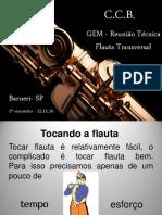 1° RT Flauta Barueri