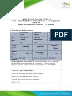Guia de actividades y Rúbrica de evaluación componente practico virtual Fisicoquímica Ambiental 358115