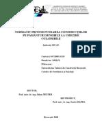 NP-125- Normativ privind fundarea constructiilor pe pamanturi sensibile la umezire colapsibile