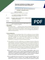 Informe Sobre Bonificación a Trabajadores Municipales Por Cumpliento de Meta