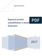 EUROLIFE ERB - Asigurări de Viață - Raportul privind solvabilitatea și situația financiară 2017