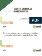 IES.01 - Licenciamento Ambiental