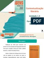 Mensagem-Contextualização literária
