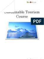 Sustainable Tourism Course