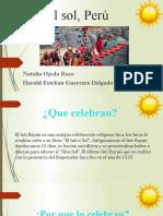 Fiesta del sol, Perú
