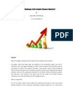 Biggest Challenge of the Islamic Finance Industry -Ust Zaharuddin