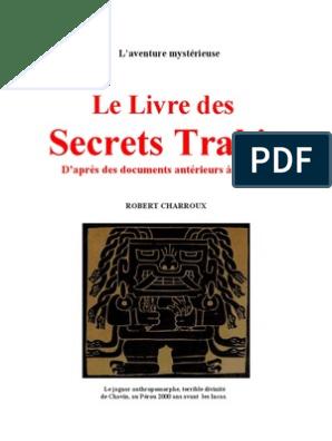 Robert Charroux Le Livre Des Secrets Trahis   Mythe du
