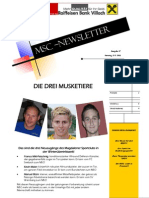 newsletter märz 2011