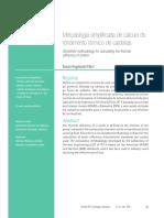 Metodologia simplificada do rendimento térmico de caldeiras