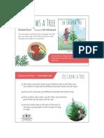 Zee Grows a Tree Teacher Tip Card