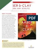 Amber & Clay Teachers' Guide