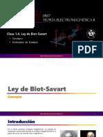 1.4. Ley de Biot-Savart