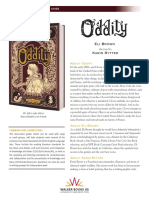Oddity by Eli Brown Discussion Guide