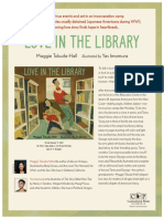 Love in the Library by Maggie Tokuda-Hall Author's Note