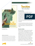 Sunshine by Marion Bauer Discussion Guide
