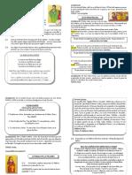 folleto comunión 2021