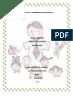 Para Que Estudiar Pedagogia Infantil