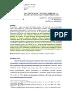 PODCASTING DE COMUNICAÇÃO CIENTÍFICA NO BRASIL
