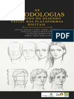 e-book metodologias de ensino do desenho facial nas plataformas digitais