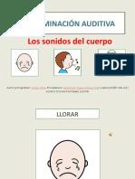 Discriminacion Auditiva Sonidos Del Cuerpo