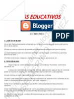 BLOGS EDUCATIVOS CON BLOGGER